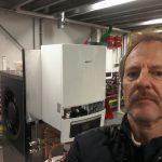 RdeVaan op training Nefit EnviLIne warmtepompen allElectric